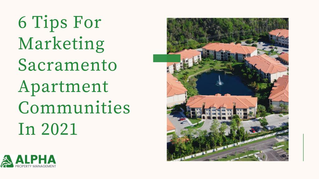 marketing sacramento apartment communities